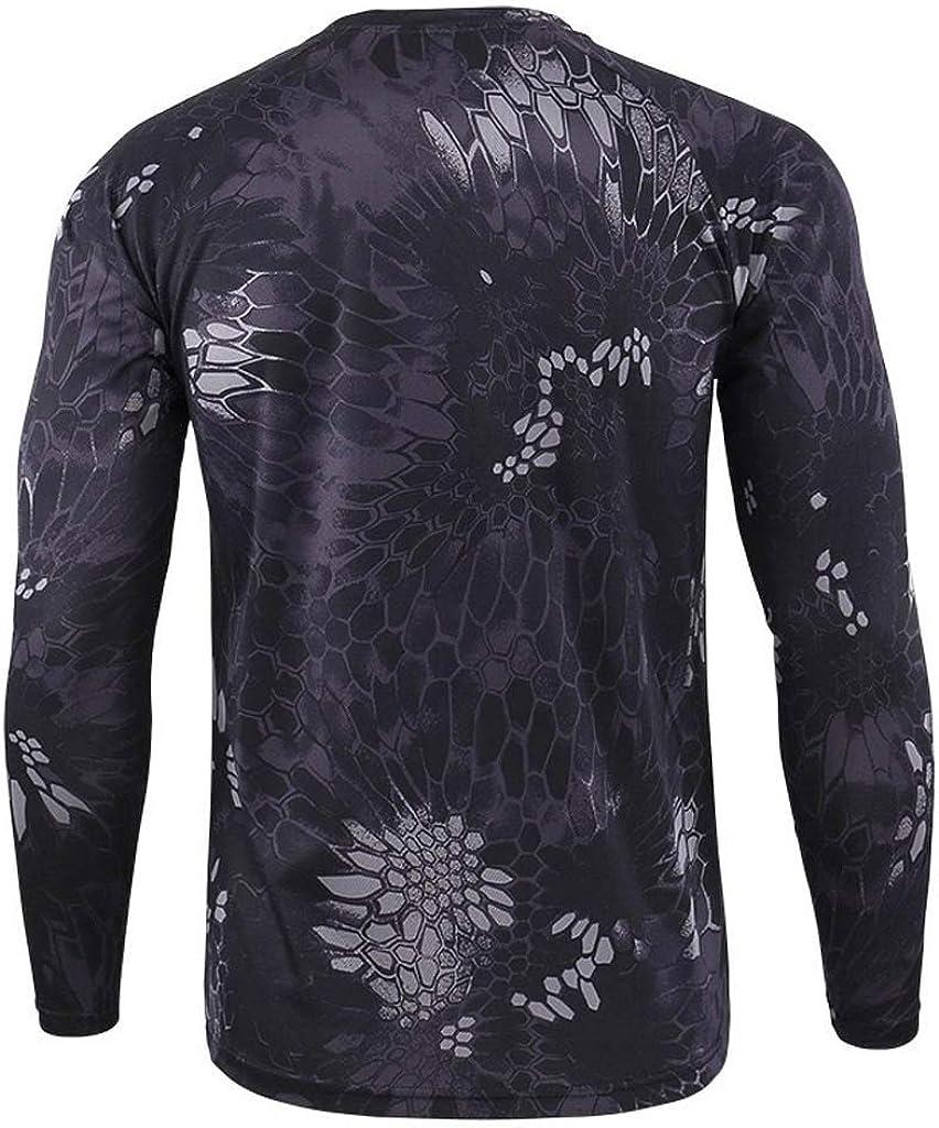Heetey Camisa Top para Hombres al Aire Libre de Secado rápido ...