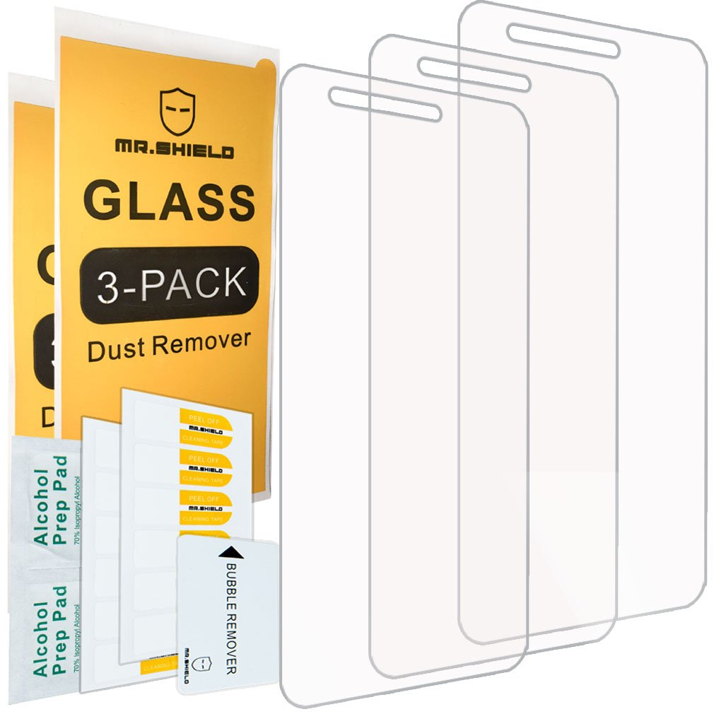 [3-Pack]-Mr.Shield for LG Rebel 3 LTE [Tempered Glass] Screen Protector [Japan Glass with 9H Hardness] with Lifetime Replacement