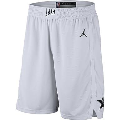 d33f1327b6a Amazon.com  Nike Jordan NBA Swingman All-Star Basketball Shorts (White