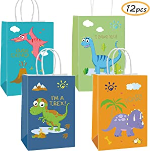 Sweepstakes: Funnlot Dinosaur Party Bags 12PCS Dino...