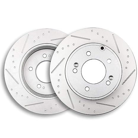 eccpp 2pcs trasero 283.7 mm Rotores de freno discos de freno Kit para 2005 – 2013