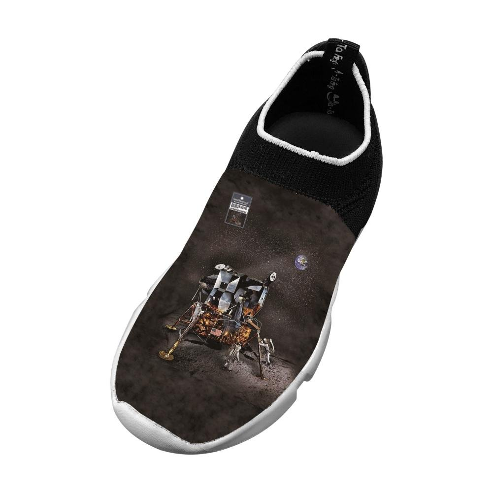Lunar Module New Funny Flywire Weaving 3D Printing Sports Shoes For Boy Girl