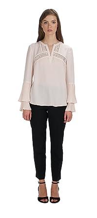 9bc426c69e308 Amazon.com  Adelyn Rae Elissa Pleated Blouse  Clothing
