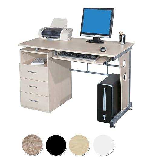 107 opinioni per SixBros. Office- Scrivania porta pc tavolo ufficio colore acero S-352/112