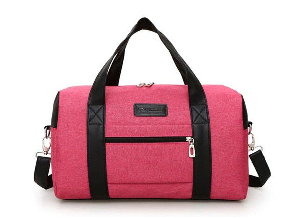 Super Canvas Gym Bag Men Women Handbags Men Crossbody Bag Men's Travel Bags LapBriefcase Bag D by Breadaye