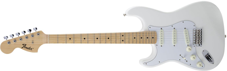 Fender エレキギター MIJ Traditional '68 Stratocaster® Left-Hand Maple Arctic White  アークティックホワイト B075DK22JT