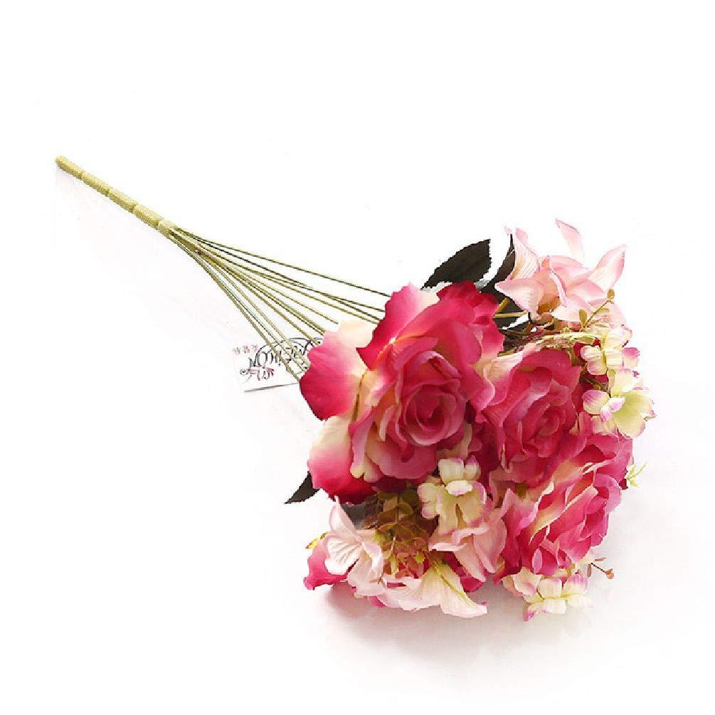 造花のバラ フラワーパーティー One Size レッド SDJKL32725762090 B07GJQN34V レッド