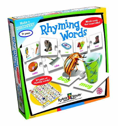 Small World Toys Learning - Rhyming Words (Match Words Rhyming)