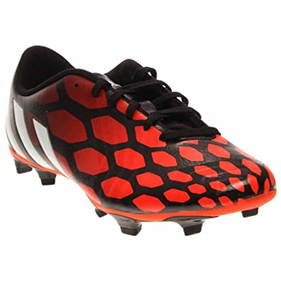 d346d0128e4 New Adidas Men s Predito Instinct FG Soccer Cleats Black White Solar Red 12