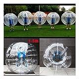 1.5M Inflatable Bumper Body Zorbing Ball Human Knocker Ball Bubble Soccer Ball PVC Material