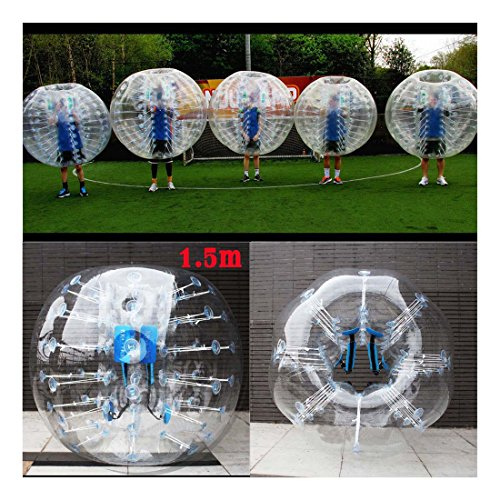 1.5M Inflatable Bumper Body Zorbing Ball Human Knocker Ball Bubble Soccer Ball PVC Material by Unknown