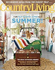 Country Living is your guide to creating the ultimate in country style. Each issue offers inspirational ideas on:Decorating & Remodeling, Antiques & Collecting, Gardening & Landscaping, Entertaining & Travel.Country Living mag...