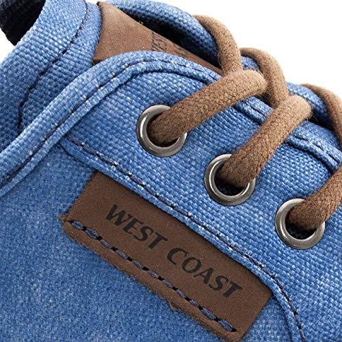 ee1e0eee7 Tênis Masculino Jeans West Coast Malibu 187403  Amazon.com.br  Amazon Moda