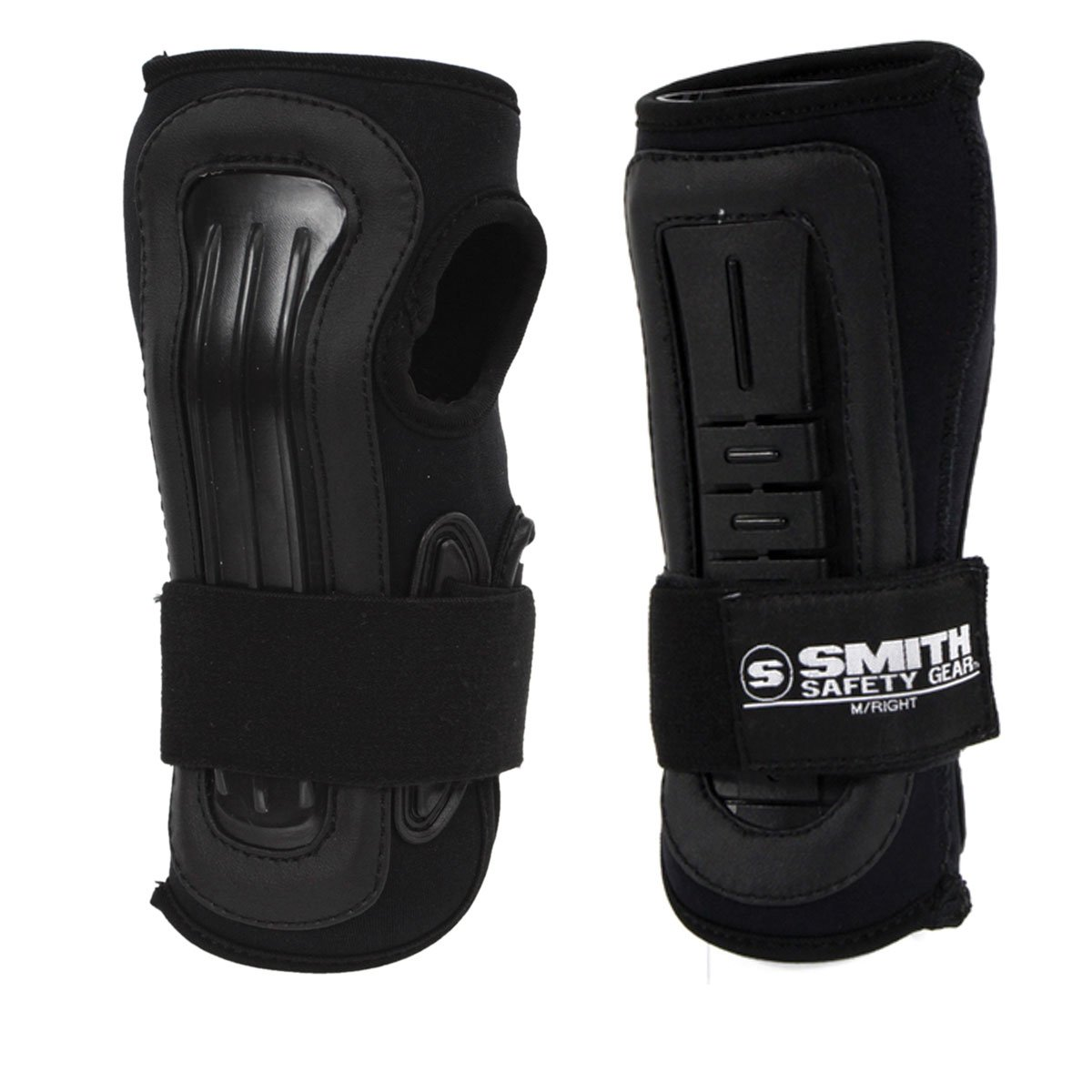 Smith Safety Gear Scabs Pro Wrist Stabilizer, Black/Black, Small by Smith Safety Gear