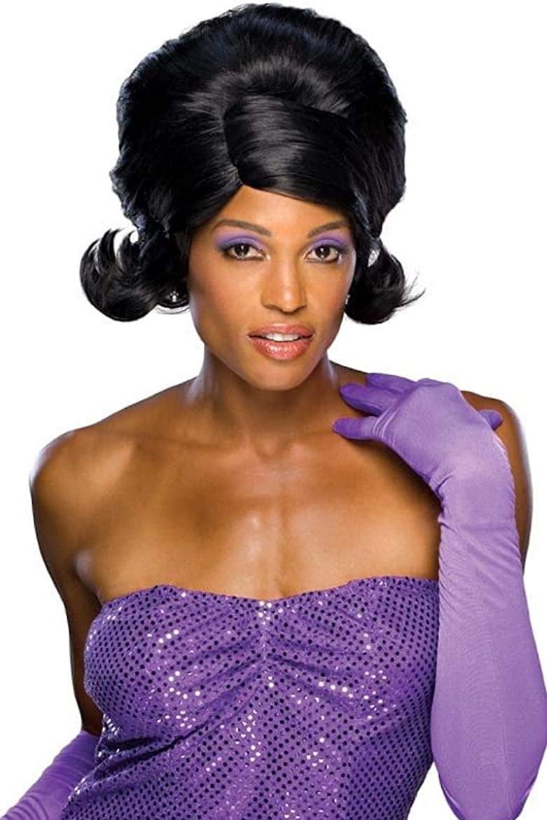 Rubie/'s Long Glamour Wig Dark Purple Adult One Size Costume Pop Star Accessory