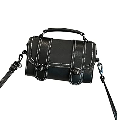 b3572dceb7 Image Unavailable. Image not available for. Color  HFmorning Cylinder Women Shoulder  bag ...