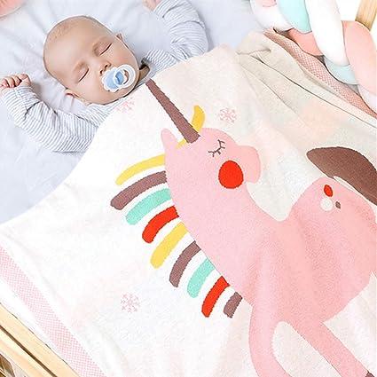 Odot Manta de Punto para Bebé Recién Nacido Unicornio ...