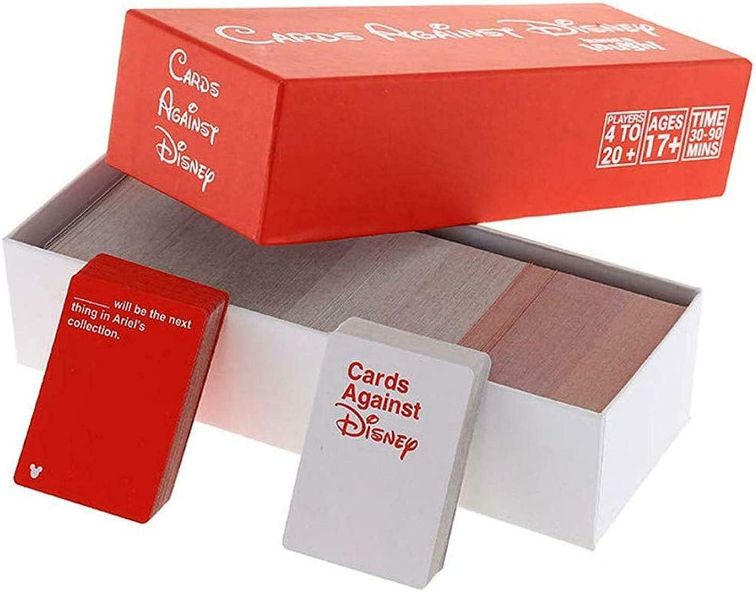 Cards Against Disney 828 Cards Original RED Pack Limited Edition