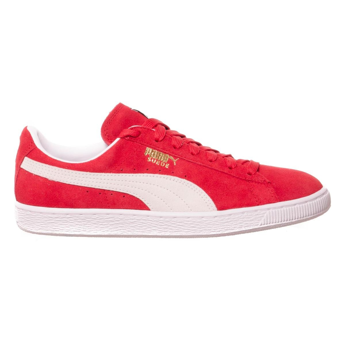 Puma Suede Classic+, Herren High-Top Sneaker  44.5 EU|High Risk Red