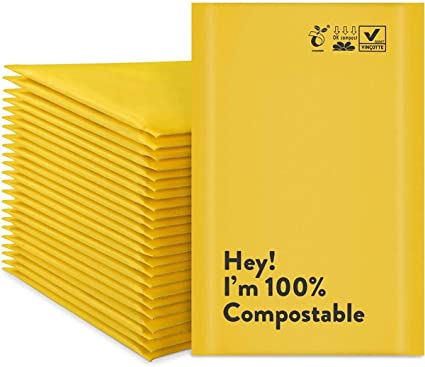 400 Pack 19x24 Poly Bags Recycled Eco Friendly Shipping Envelopes Mailers