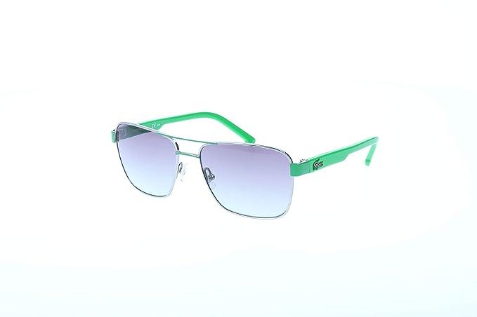 Lacoste Gafas de sol, Verde (Green), 52.0 para Hombre ...