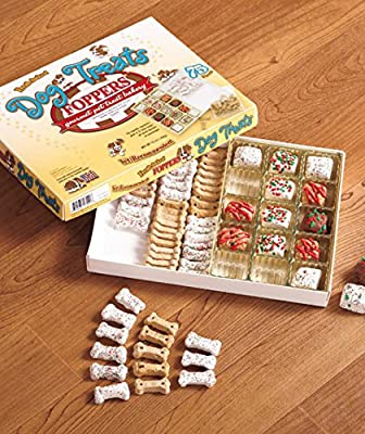 Foppers Gourmet Dog Treat Box (75 Pieces)