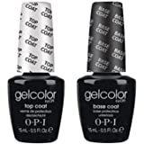 OPI Gel Color Base Top Coats Duo Set