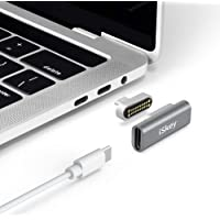 Magnetic USB C Adapter 20Pins Type C Connector, Support USB PD 100W Quick Charge, 10Gbp/s Data Transfer and 4K@60 Hz Video Output Compatible with MacBook Pro/Air, 2019 iPad Pro and More Type C Devices