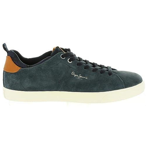 Zapatillas Hombre Pepe Jeans Marton Suede Navy PMS30502: Amazon.es: Zapatos y complementos