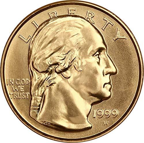 (1999 W $5 Modern Commems - Gold Washington Five Dollar MS70 NGC)
