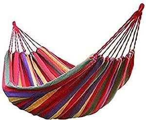 CF-Hamac Lit De Balan/çoire Portatif Ultra-l/éger en Nylon De Nylon De Parachute Respirant Pouvant Contenir Jusqu/à 300 Kg pour Backpacking Voyage Camping Plage Jardin
