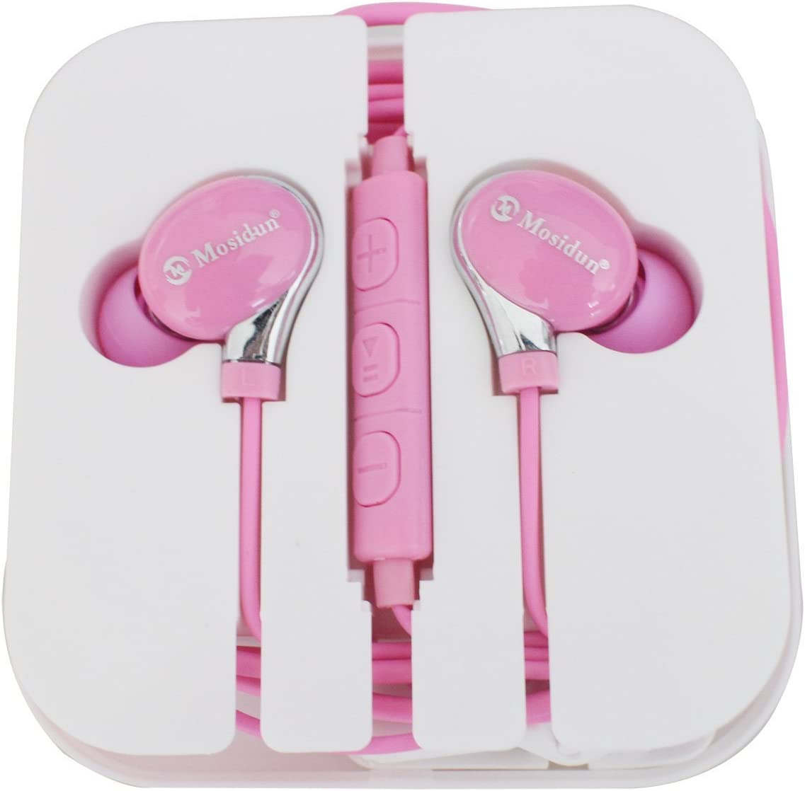 3.5mm Audio/Music Ear Plugs,Metal-Ear Earphones,Earbuds for iPhone 6s,iPhone 6plus,Samsung s7,Galaxy S6 Edge