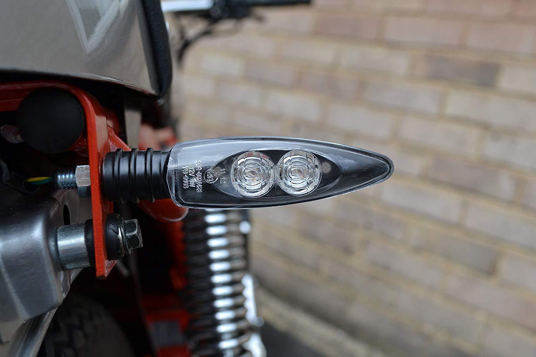 Super Helle LED Motorrad E-Gepr/üft Blinker