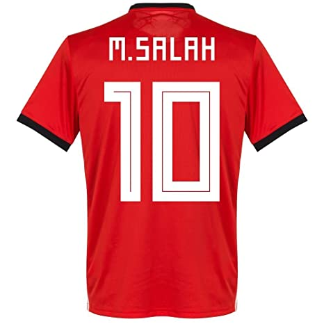 Mohamed Salah #10 Egypt National Team Jersey Russia 2018 (M)