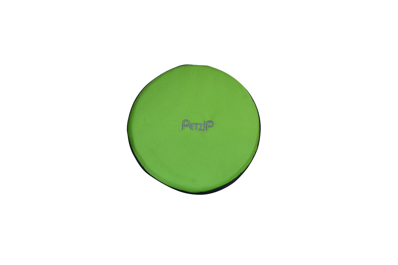 Green PetZip Heavy Duty Dog Flyer Disk Large (Green)