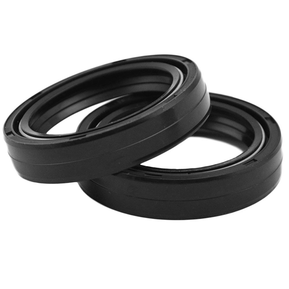 AHL Front Fork Shock Oil Seal and Dust Seal Set 35mm x 48mm x 11mm for Honda CX500C Custom 1981-1982
