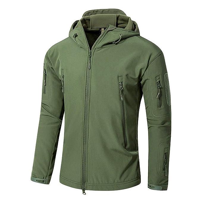 Amazon.com: XIAKE V4.0 - Chaqueta con capucha para hombre ...
