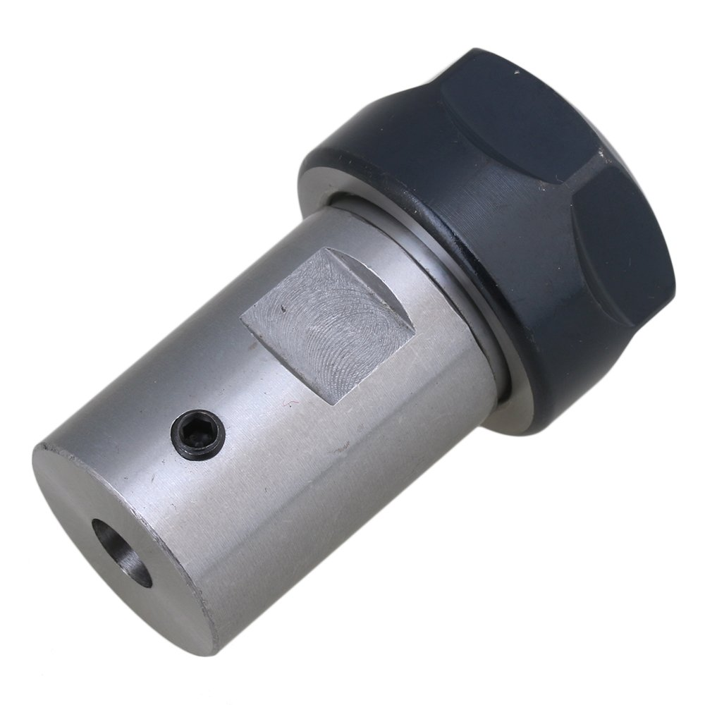 Motor Shaft Collet Chuck ER20A 12mm Rod Tool Holder CNC Milling 40CR Type A Nut