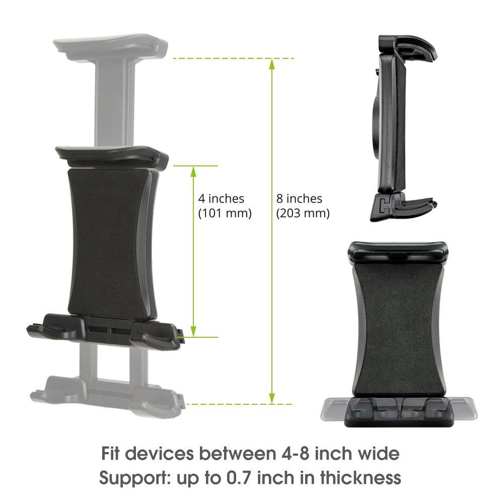 iKross Soporte Móvil Coche Universal Montaje Cuello de Cisne Multi-Ángulo con Sostenedor 360° Rotación para Smartphone Móviles iPhone GPS