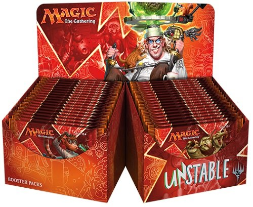 Magic The Gathering MTG-UST-BD-EN Unstable Trading Card Booster Display - Gathering Boxes Magic The Booster