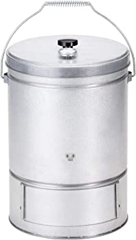BUNDOK(バンドック) スモーク 缶 温度計付 BD-439