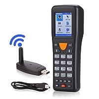 Trohestar sans Fil Barcode Scanner de Collector et Terminal Portable Inventaire Appareil Code à Barres PDT avec écran LCD Couleur TFT