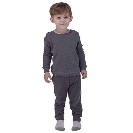 91f98d974 Amazon.com: Artic Pole Arctic Pole Baby-Boys Thermal Underwear Set 12  Months Charcoal: Clothing