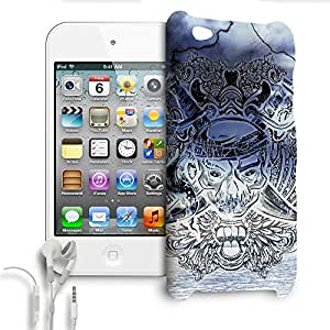 Phone Case For Apple iPod Touch 4G - Ghost Pirate Wrap-Around Slim by lolosakes