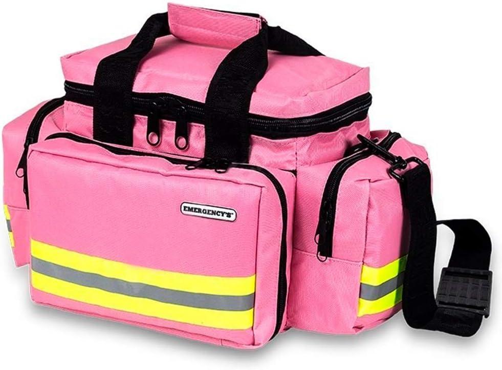 Mobiclinic Elite Bags, Bolsa Asistencia Sanitaria Ligera, Amplia, Resistente, Rosa