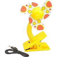 Sumersha - Mini ventilador de clip para cochecito