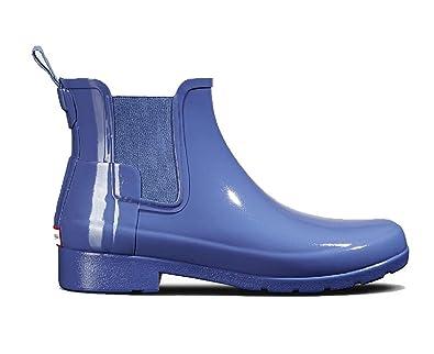 a68d3c3e5a9 Amazon.com | Hunter Original Women's Refined Chelsea Gloss Boot ...