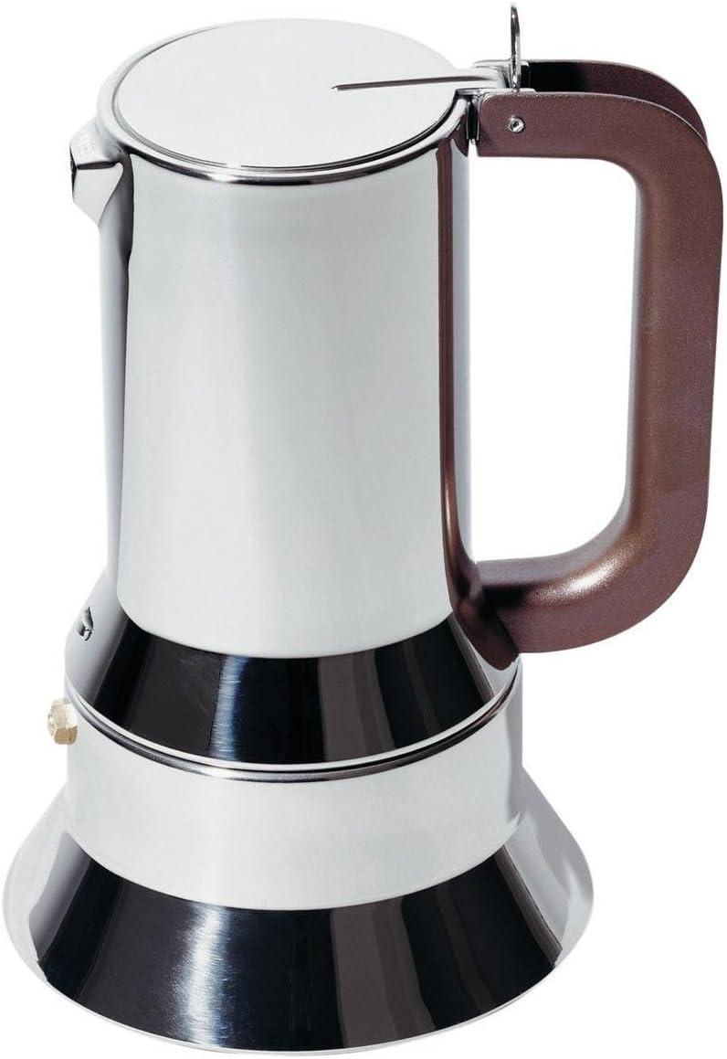 Cafetera expreso de acero inoxidable Alessi 9090/6 FM: Amazon.es ...