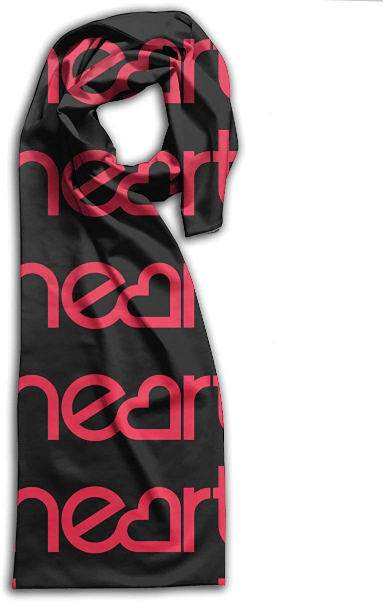 Heart Rock Band Scarf Autumn Winter Lightweight Muffler Kids Neckchief Men And Women