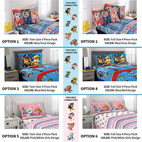 Kitchen Designer Jobs In Oman: Nickelodeon Paw Patrol Kids Bedding Soft Microfiber Sheet Set, Twin Size 3 Piece Pack, Blue/Red